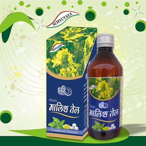 Achyutaya Spe. Malish Tel: 100ml