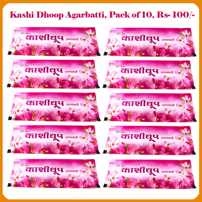 Kashidhoop Agarbatti (Pack of 10)