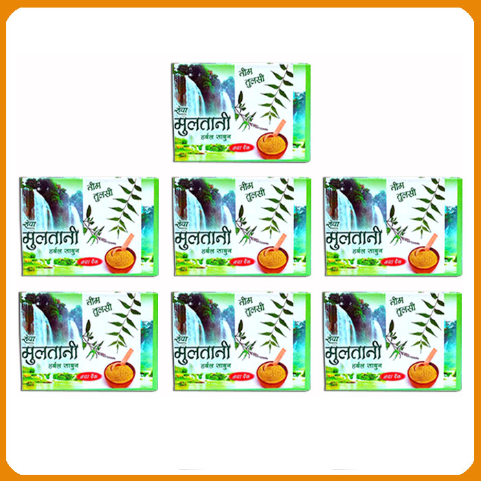 Neem-Tulsi Soap (Pack of 7)