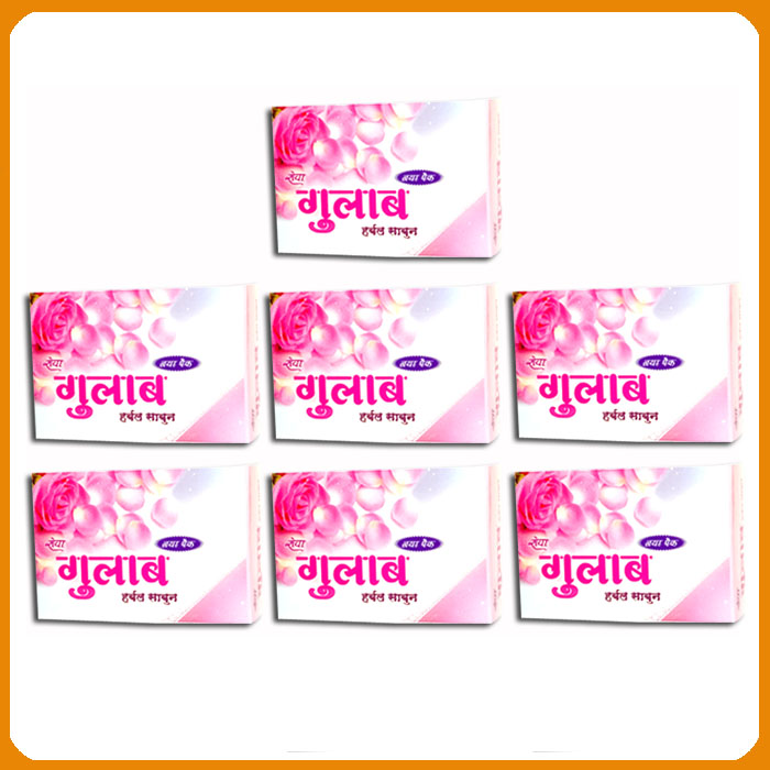 Rose Soap (Pack of 7)