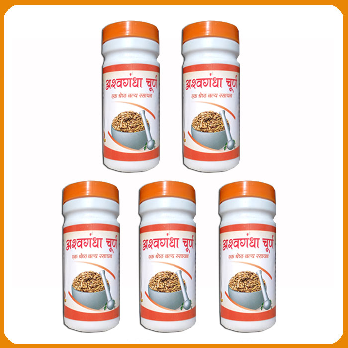 Ashwagandha Churna (Pack of 5)