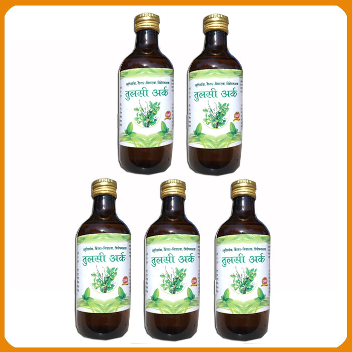 Tulsi Ark (Pack of 5 x 500 ml )