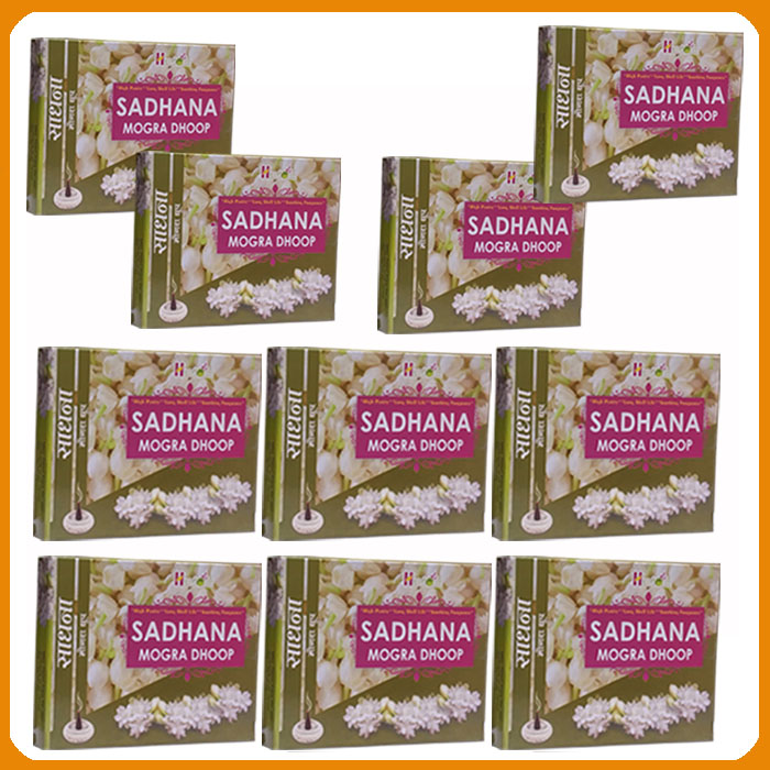 Sadhana Mogra Dhoop (Pack of 10)