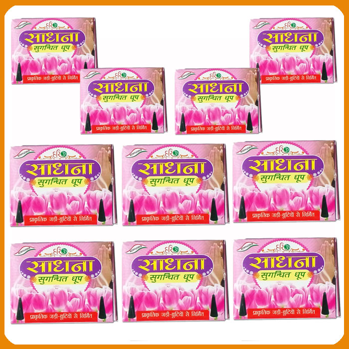 Sadhana Dhoop (Pack of 10)