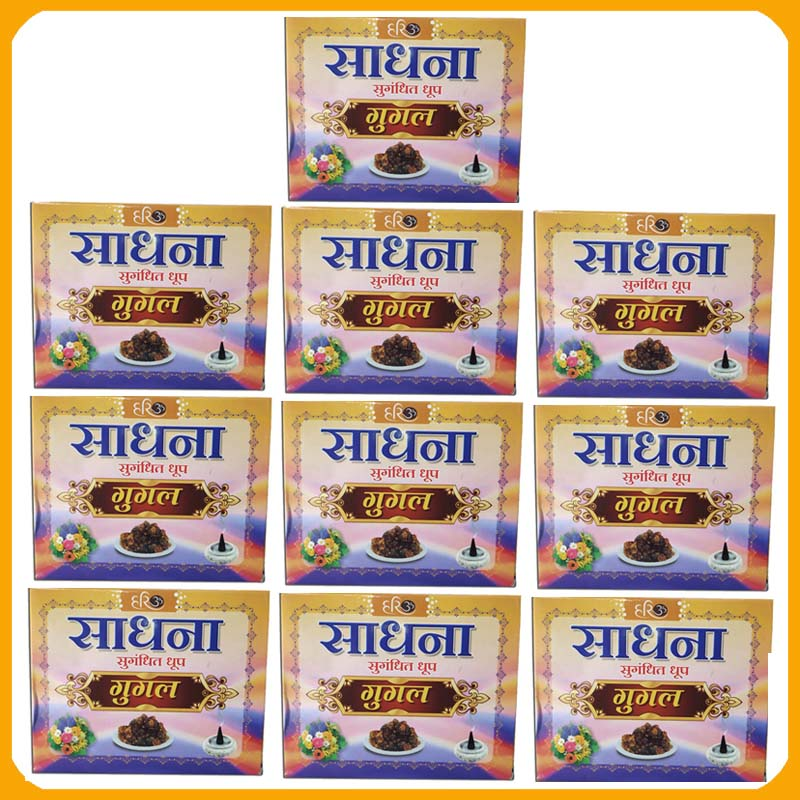 Sadhana Gugal Dhoop (Pack of 10)